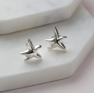 starfish earring studs